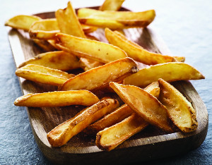 PATATE CONNOISEUR FRIES RUSTIC SKIN ON KG 2